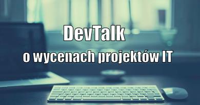 Ja w DevTalk.pl