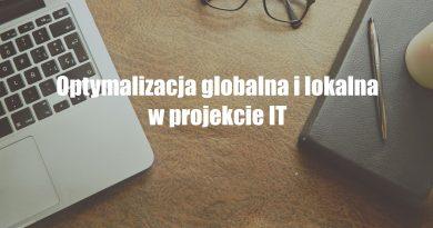 Optymalizacja lokalna i globalna w twoim projekcie
