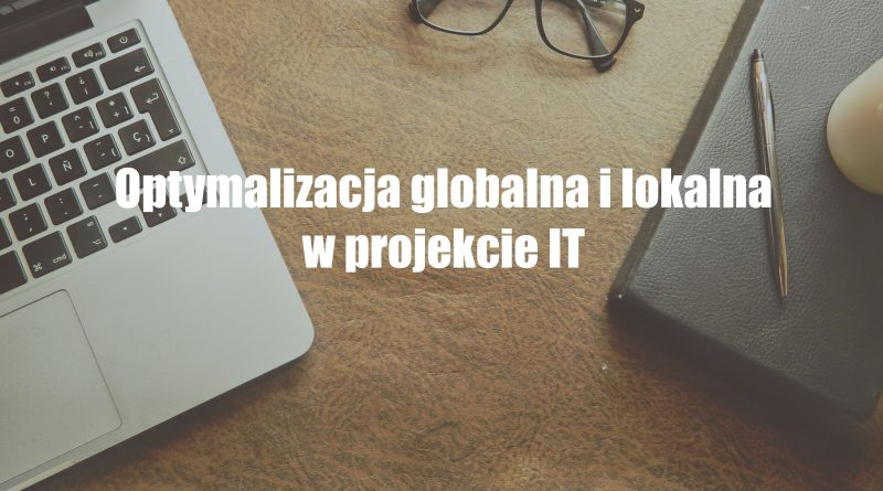 optymalizacja lokalna i globalna